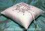 Snowflake Ring Pillow - winter wedding