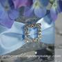 Miniature Rhinestone Buckle - Centerpiece Decoration