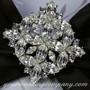 Swarovski Crystal Diamond Brooch - Wedding Bling