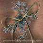Chocolate-Brown Wedding Ring Pillow