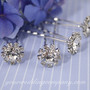 Swarovski Crystal Daisy Hair Pins