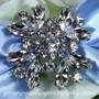 Swarovski Crystal Marquis-Petal Wedding Brooch