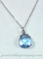 Swarovski Briolette Crystal Necklace & Earrings - Wedding Jewelry