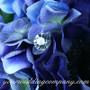 Rhinestone Floral Picks - Classic Round