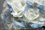 Rhinestone Snowflake Floral Picks - Wedding Bouquet Accent