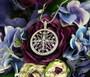 Crystal Medallion Pendant Necklace