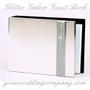 Glitter Galore Silver Guest Book