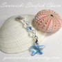 Something Blue Swarovki Starfish Charm