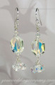 Swarovski Briolette Dangle Earrings