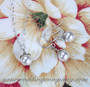 Classic Pearls Bridal Necklace & Earrings Set