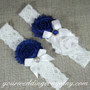 Something Blue Royal Garter Set