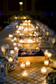 Votive Candle Wedding Table Decorations