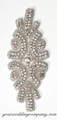 David Tutera Rhinestone Wedding Applique