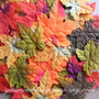 Silk Maple Leaves - Fall Wedding Decoration