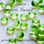 Lime Green - Tsavorite Garnet Diamond Confetti