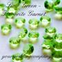 Lime Green - Tsavorite Garnet Diamond Confetti