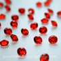 Ruby Red Diamond Confetti