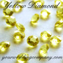 Lemon - Yellow Diamond -  Diamond Confetti