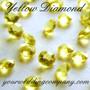Lemon - Yellow Diamond -  Diamond Confetti