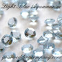 Aquamarine Light Blue Diamond Confetti