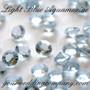 Aquamarine Light Blue Diamond Confetti