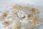 Ivory and White Faux-Pearl Garland - Beach Wedding Centerpiece Idea