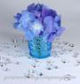 2-Carat Acrylic Diamonds - Wedding Table Confetti - Hydrangea Votive Accent