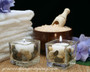 Square Glass Votive/Tea Light Holders