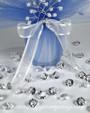 Acrylic Crystal Diamond Confetti (6-Carat) - CLEAR DIAMANTE TABLE GEMS