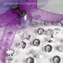 12mm Acrylic Crystal Diamond Confetti (6-Carat) - CLEAR DIAMANTE TABLE GEMS