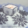 Artificial Snow Table Centerpiece - Winter Wedding Decoration