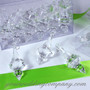Large Acrylic Crystal Prism Drops - Wedding Decorations
