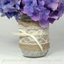 Burlap Fabric (4-inch wide) - Mason Jar Centerpiece
