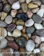 Small Assorted River Pebbles - Wedding Decoration Accent