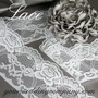 White Scalloped Lace - Wedding Decoration