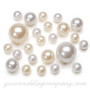 Assorted Large Pearls - Wedding Vase Fillers