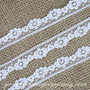 White Floral Lace - Rustic Wedding Decoration