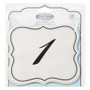 Table Number Cards - David Tutera