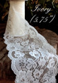 Double Scalloped Lace Ribbon (5.75 inch wide)