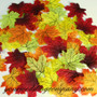 Miniature Silk Fall Leaves