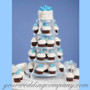 Tiered Cupcake & Dessert Tower