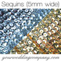 Faceted 5mm Sequins (SL & GD)