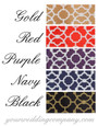 Contemporary Satin Deco Ribbon - Color Chart