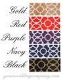 Contemporary Satin Deco Ribbon - Color Chart