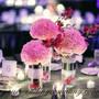 Mesh Ribbon Wedding Decorations (Silver 24 Row)