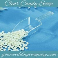 Clear Candy Scoops