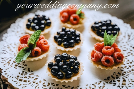 A Paper Doily Under Desserts