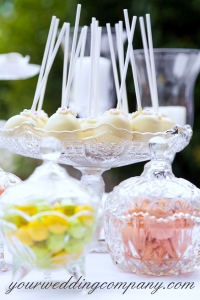 Candy and Cake Pops Display Idea