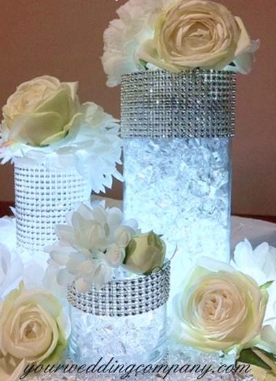 Acrylic Ice Vase Filler