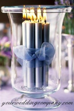 Candles in a Vase